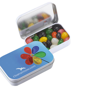 Rectangular Tin - Jelly Beans