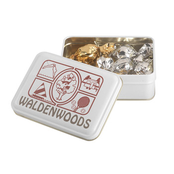 Keepsake Gift Tin - Twist Wrapped Truffles