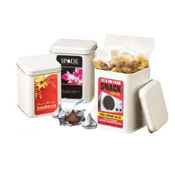 Canister Tin - Deluxe Mixed Nuts