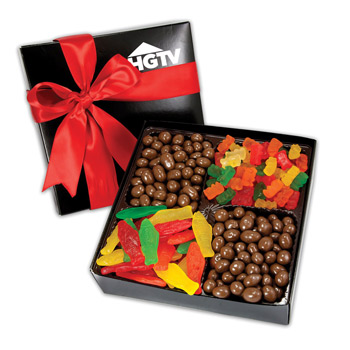 4 Delights Gift Box - Gourmet Confections
