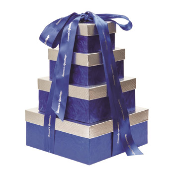 4 Tier Sweet & Savory Gift Tower