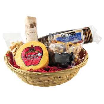 Cheese & Cracker Gift Basket