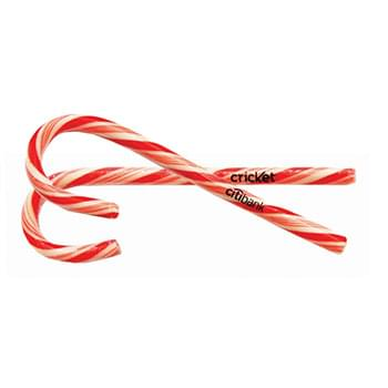 Large Candy Cane w/Clear Label