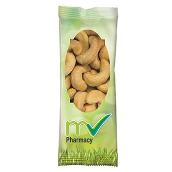 Full Color Tube DigiBag™ with Jumbo Salted Cashews