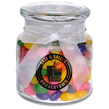 22oz. Glass Jar - Jelly Beans