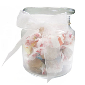 22oz. Glass Jar - Salt Water Taffy