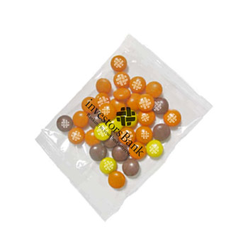 1oz. Goody Bags - Imprinted Reese's Pieces