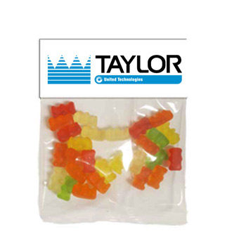 Large Header Bags - Gummy Bears