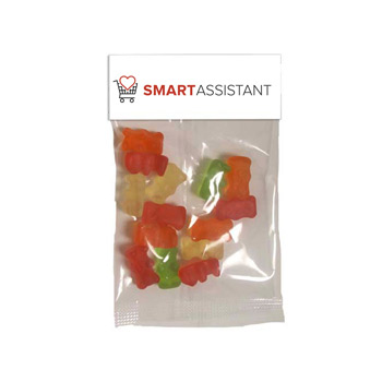 Small Header Bags - Gummy Bears