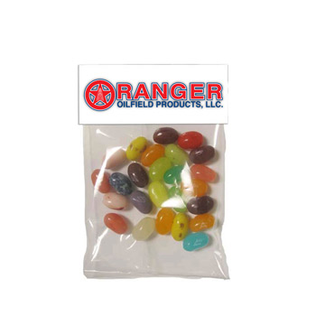 Small Header Bags - Gourmet Jelly Beans