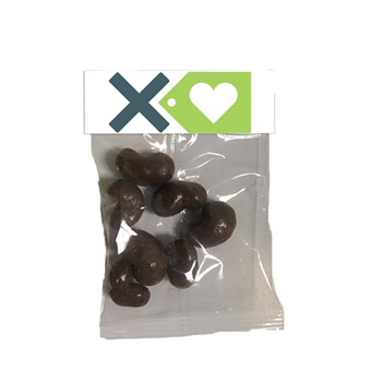 Small Header Bags - Milk Chocolate Cashews