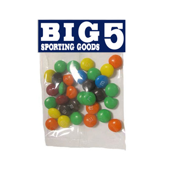 Small Header Bags - M&M's