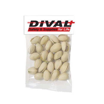 Small Header Bags - Jumbo Salted Pistachios