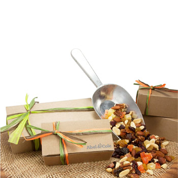 Large Natural Kraft Box with Deluxe Trail Mix