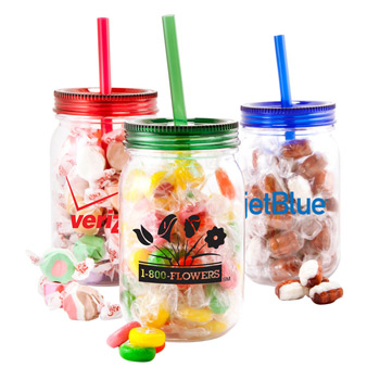 25oz. Mason Jar - Salt Water Taffy