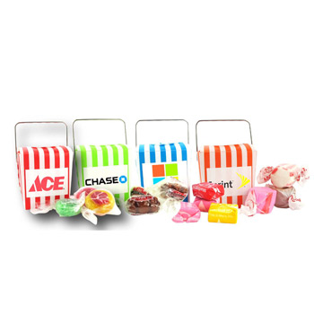 Mini Take-Out Containers - Salt Water Taffy