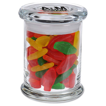 Glass Gourmet Jar - Assorted Swedish Fish