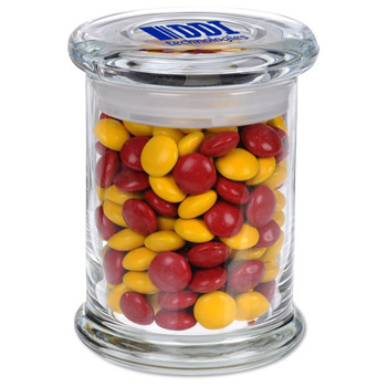Glass Gourmet Jar - Chocolate Buttons