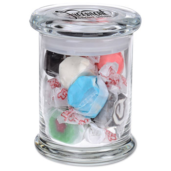 Glass Gourmet Jar - Salt Water Taffy