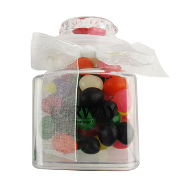 8oz. Plastic Jar - Sour Balls
