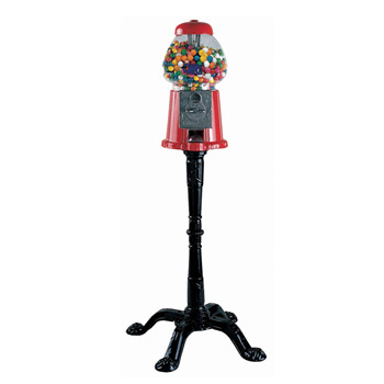 King with Stand Gumball Machine without gum