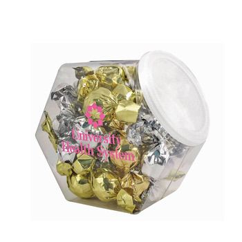 Penny Candy Jar - Twist Wrapped Truffles