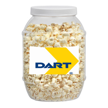 Large Plastic Jar - Butter Popcorn