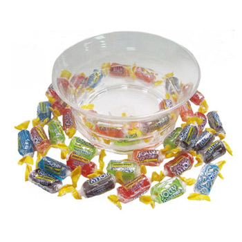 Acrylic Candy Dish - Assorted Jolly Ranchers