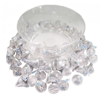 Acrylic Candy Dish - Hershey's Choclate Kisses