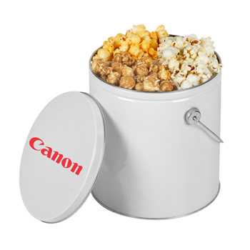 One Gallon Popcorn Tin/Trio