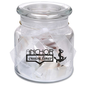 22oz. Glass Jar - Personalized Candies